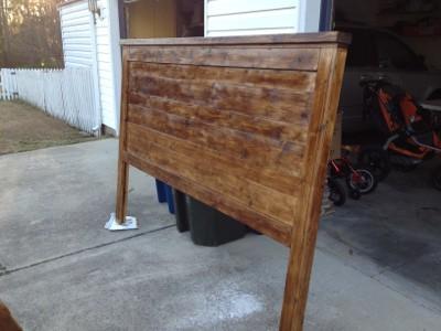 Wooden King Headboard Plans