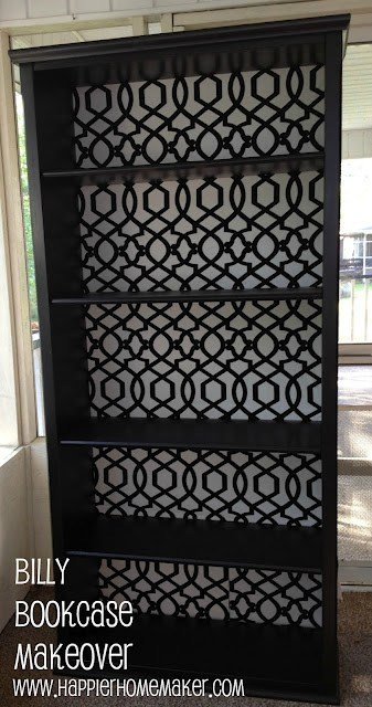 IKEA Billy Bookcase Makeover
