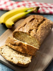 easy banana bread loaf recipe