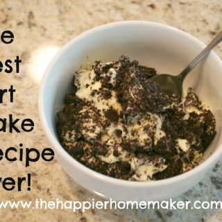 Best Dirt Cake Recipe. Ever.