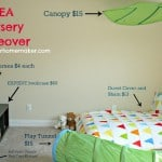 ikea nursery makeover