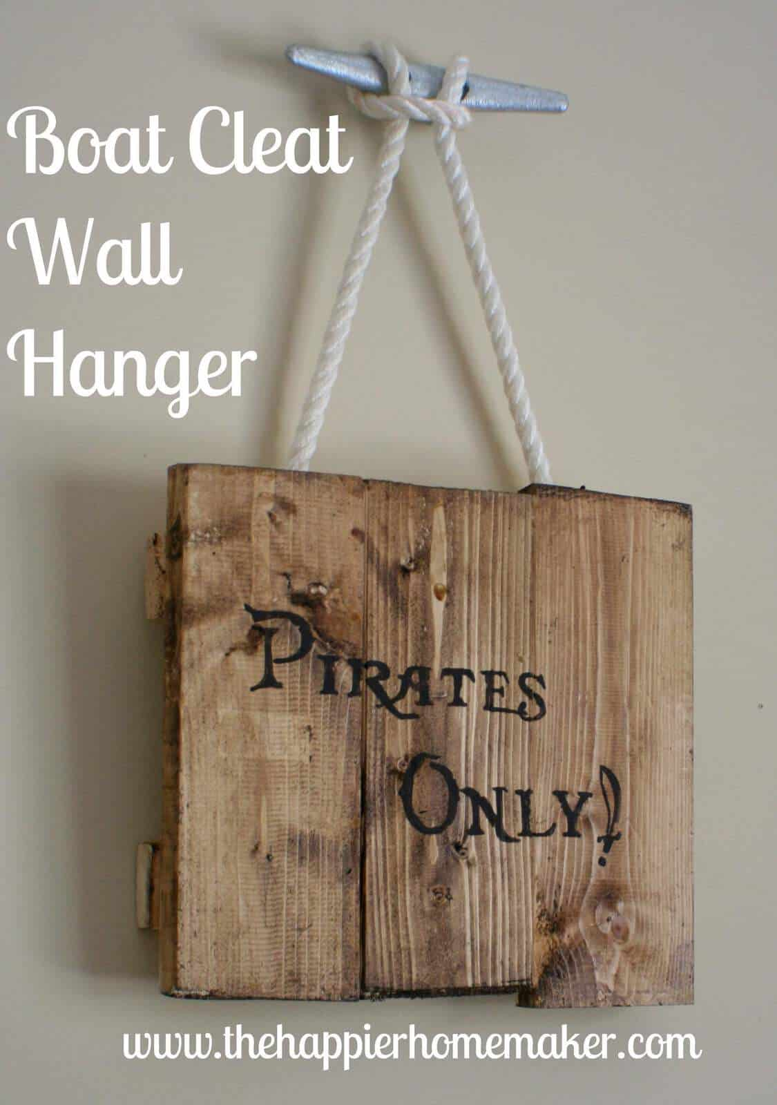 Boat Cleat Wall Hanger