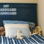 diy beadboard headboard pottery barn knockoff camp bed