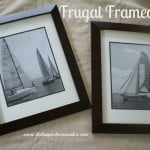 frugal framed art