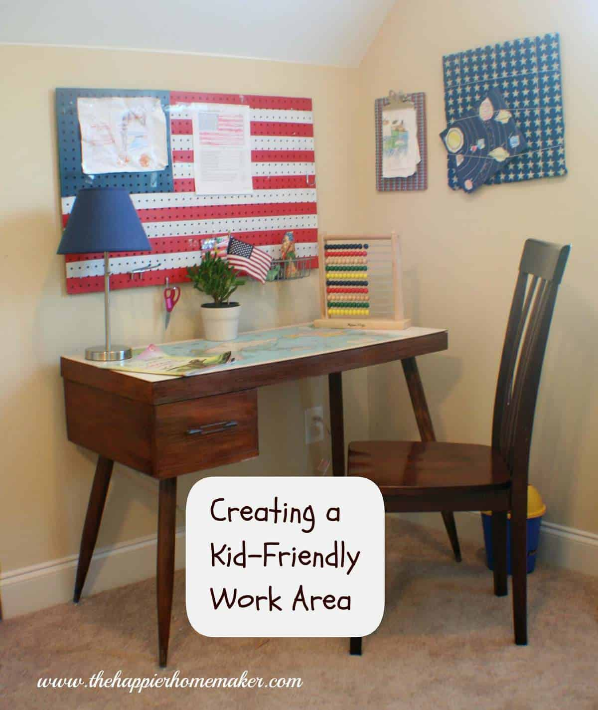 Creating a Kid-Friendly Work Area