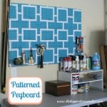 pegboard after garage