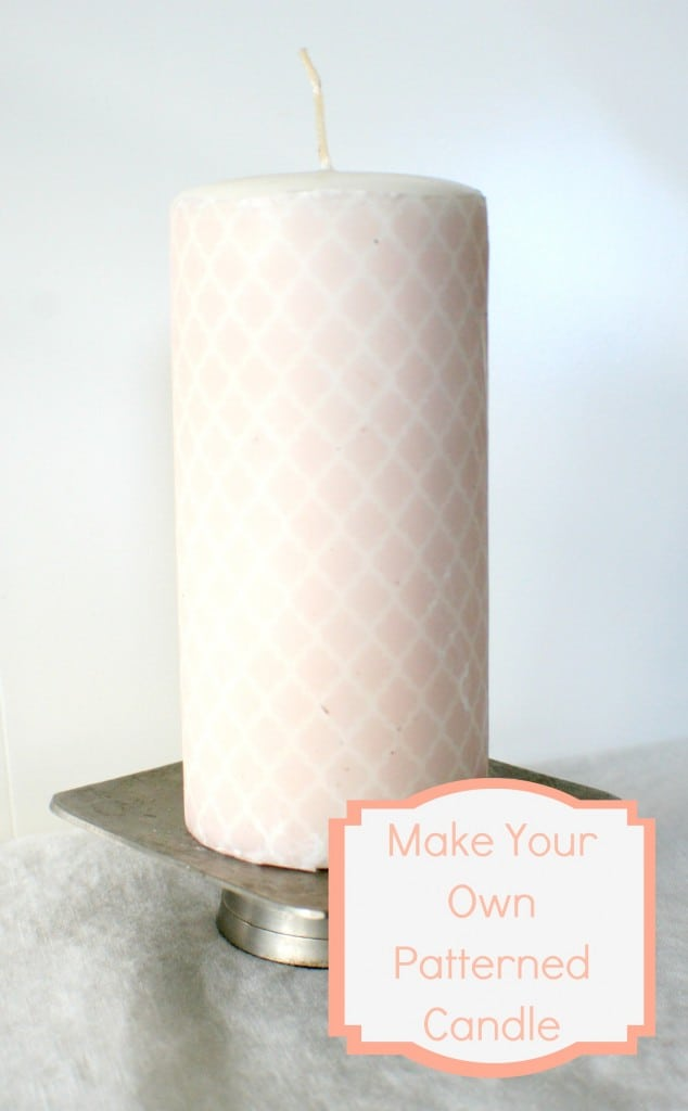 Make your own personalized candle