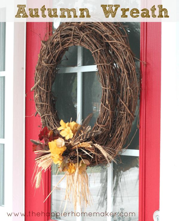 Autumn Wreath Update