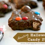 amazing best rich chocolate fudge candy recipe halloween