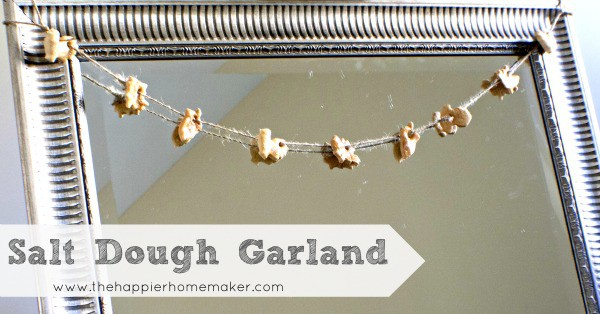 salt dough recipe garland autumn turkey leaf maple acorn mirror