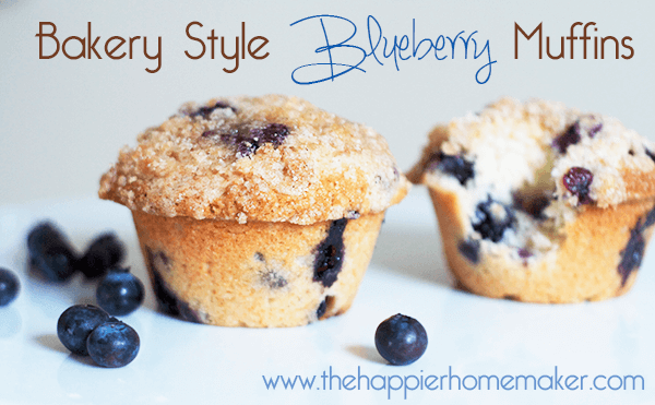 bakery blueberry muffins