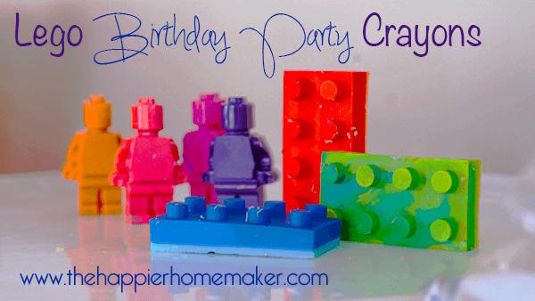 DIY Dinosaur Lego Birthday Party-Favors