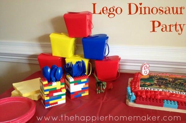 lego dino party