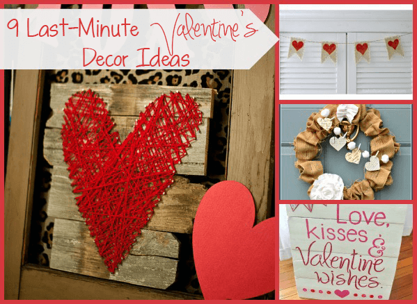 Last Minute Valentine 39 S Day Decor Ideas The Happier