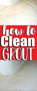 how to clean grout collage