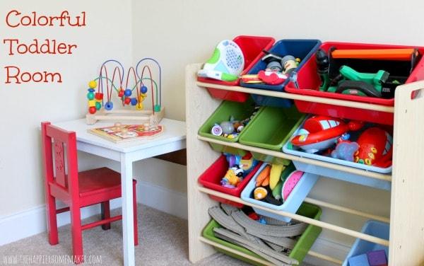 desk and toy storage