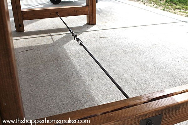 dining table turnbuckle
