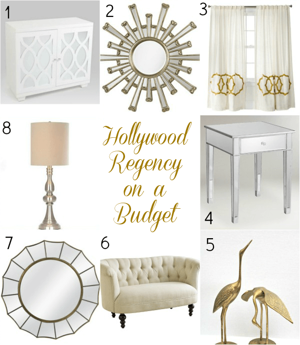 hollywood regency  Collage