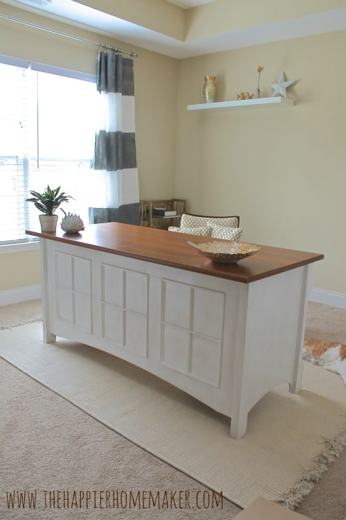 My New Desk with a Regency Update