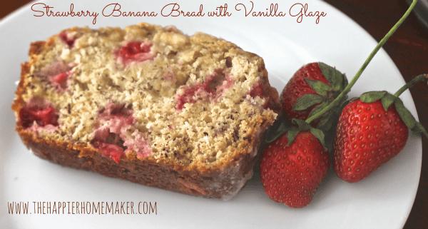 strawberry banana bread glaze