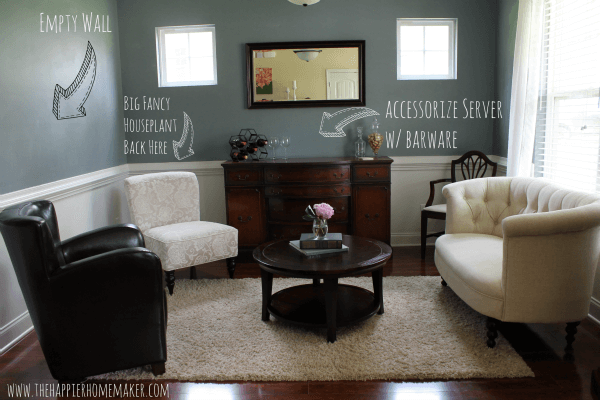Sitting room plan