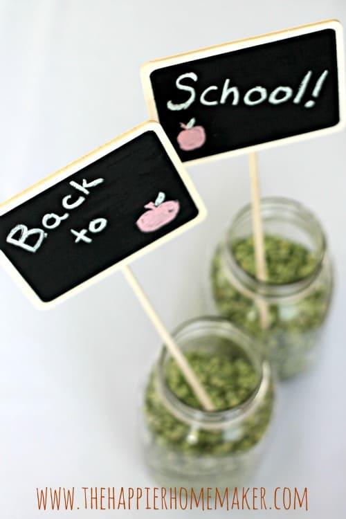 back to school chalkboards
