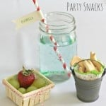 vintage inspired party snacks