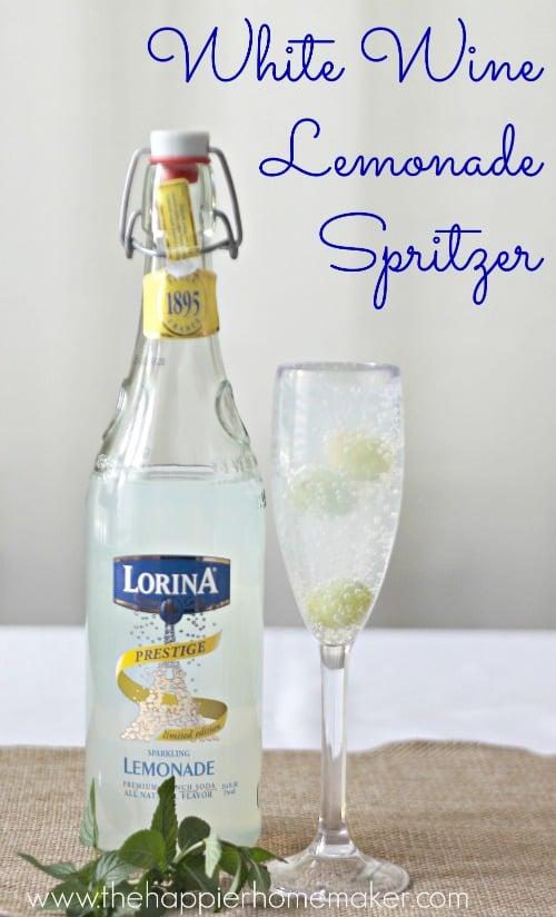 wine lemonade spritzer