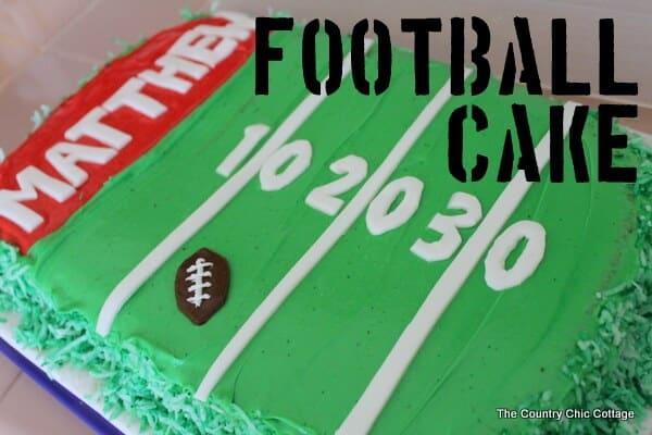 football cake-007