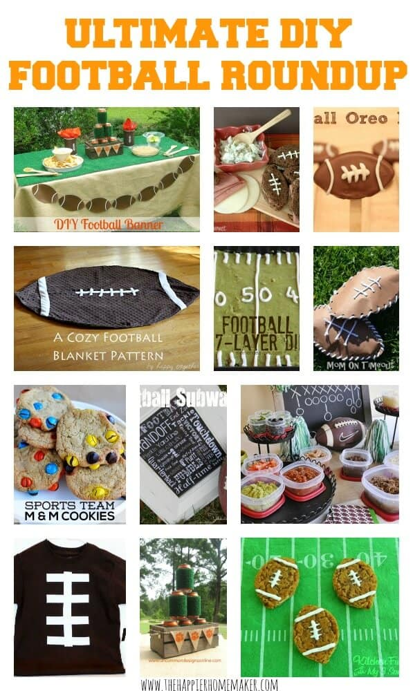 Ultimate DIY Football Round Up!