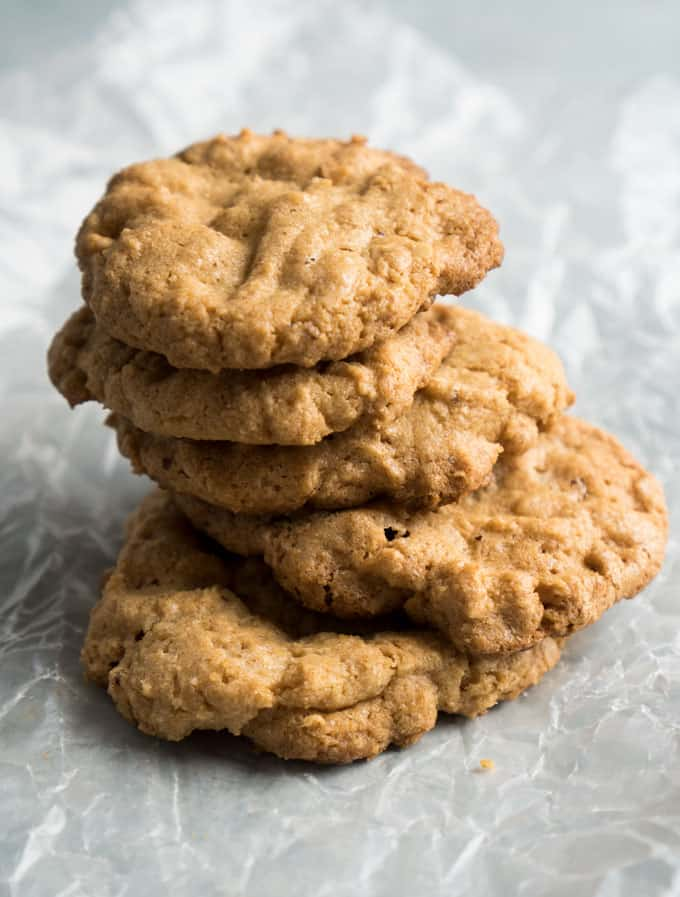 gluten free peanut butter cookie recipe