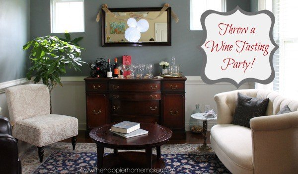 throw a wine tasting party