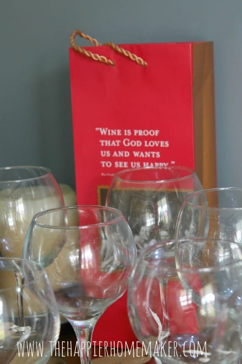 wine tasting party gift