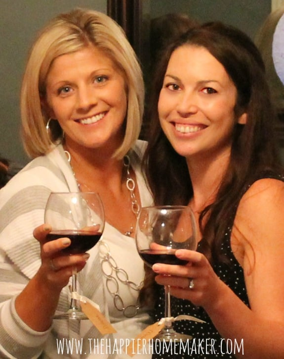 wine tasting party picture
