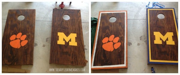 corn hole painting cornhole design ideas - Cornhole Design Ideas