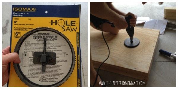 corn hole saw