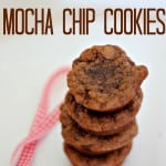 hazelnut mocha chip cookies