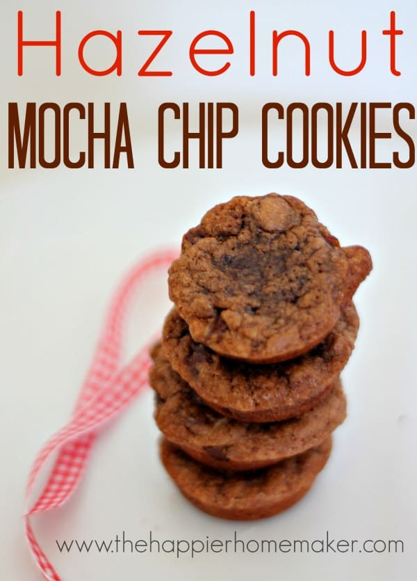 hazelnut mocha chip cookies