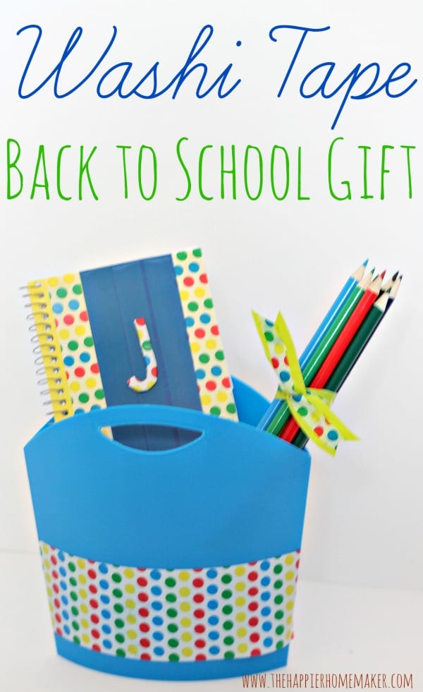 Washi Tape Back to School Gift with #BTSExpressions