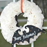 coffee filter wreath tutorial halloween thumbnail