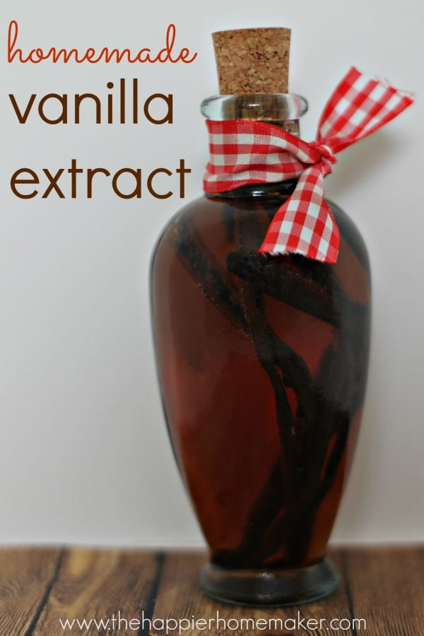 homemade vanilla extract diy gift