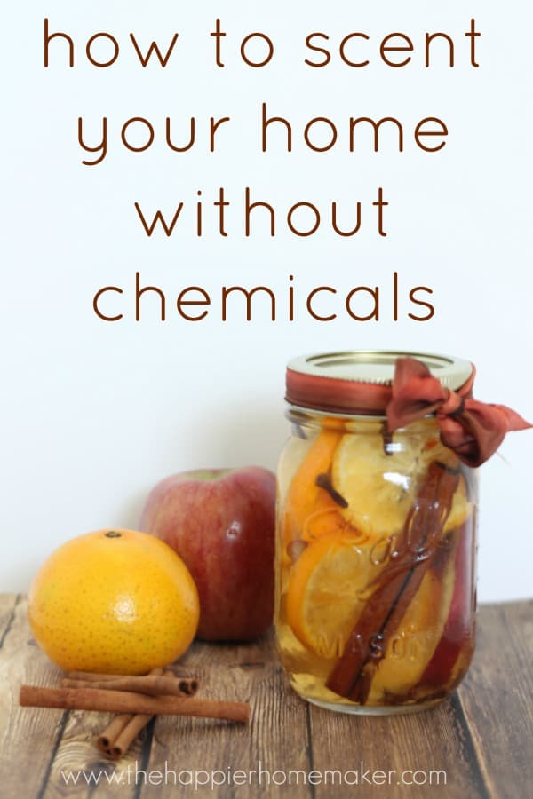 how to scent your home without chemicals
