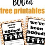 free printable we've been booed and you've been booed
