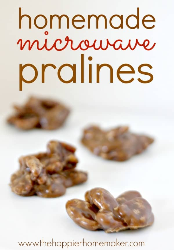 microwave praline recipe