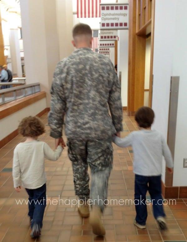 the happier homemaker military family