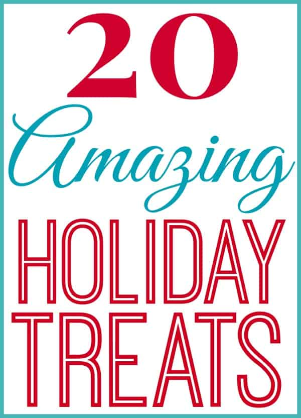 20 holiday treats