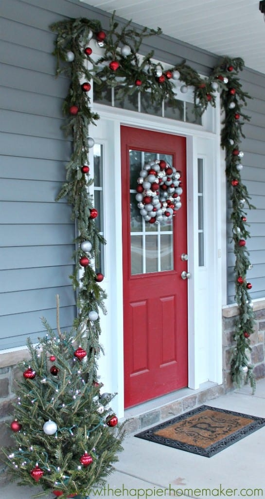 christmas outdoor garland diy