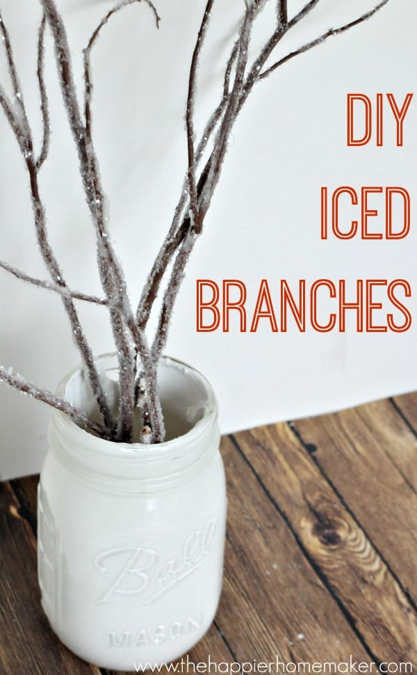 diy iced branches