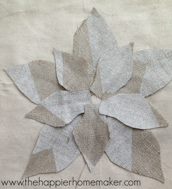 how to make flower pillow pottery barn