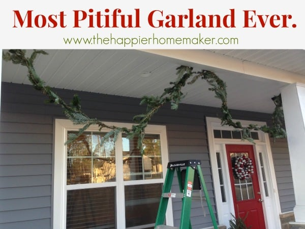pitiful garland how to make diy
